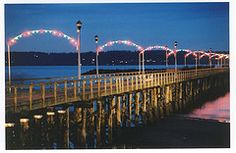 White Rock Pier at Christmas by bradleymberg Mc G, Seasons, Rock, Search, Christmas, Xmas, Searching, Seasons Of The Year, Weihnachten