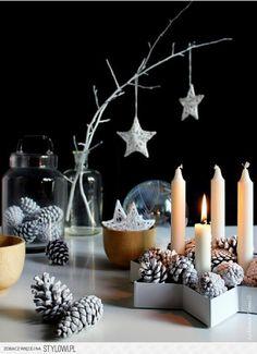 Ideas para Navidad en color blanco | Tarjetas Imprimibles