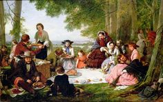 A Picnic, 1857 | In the Swan's Shadow