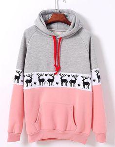 long-sleeved fleece sweater XF1201F