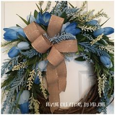 A personal favorite from my Etsy shop https://www.etsy.com/listing/586422393/spring-grapevine-wreath-easter-spring