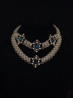One of a kind chain maille choker/necklace