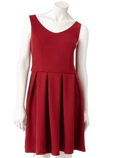LC Lauren Conrad Textured Fit & Flare Dress, $36 - Holiday Dresses - Seventeen