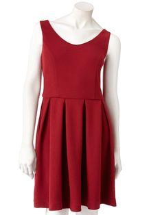LC Lauren Conrad Textured Fit & Flare Dress, $36 - Holiday Dresses - Seventeen