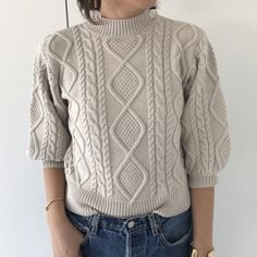 TODAYFUL(トゥデイフル) |Short Cable Knit