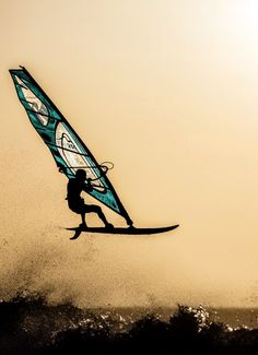 I'd love to go windsurfing someday!