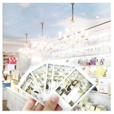 Perfect macarons and pretty Polaroids at @ladureesingapore  #ladureesingapore by sandrakstewart