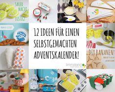 Adventskalender Befüllung - 12 DIY Ideen für Kinderküche und Kaufladen www.limmaland.com