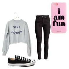 """""""Let's go!"""" by avahey08 ❤ liked on Polyvore featuring beauty and Converse"""