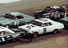 Cotton Owens Garage : Petty had three cars for awhile, check out the #41