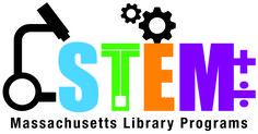 STEAM Logo - MA Library Programs