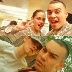 Kristen Stewart E Joseph Julian Soria Em Novas Fotos Nos Bastidores De Camp X-Ray