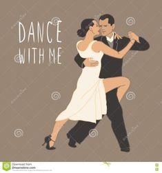 Tango. Dancing Couple. People
