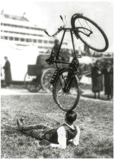 Balancing a bike