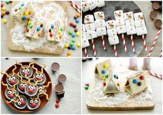 This looks so cute vinden jullie ook niet? The kids will definitely love it! Sugar, Cookies, Chocolate, Cake, Desserts, Inspiration, Food, Turmeric, Recipes