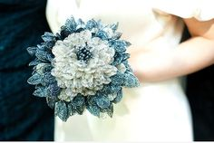 A beaded bouquet might be a great DIY project and a way to let some of the real flowers keep growing for another day.