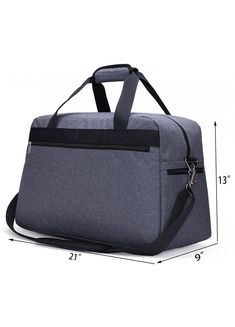 0da4470810 MIER Travel Duffel Bag Carry On for Men and Women