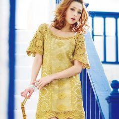 Crochetemoda: Vestido de Crochet ~ Photos Only