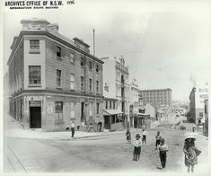 15.The 'Hero of Waterloo' in The Rocks, cnr Lower Fort Street and Windmill Street looking west to the Point | Flickr - Photo Sharing!