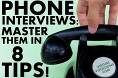 Phone interviews can be intimidating, but don't fret! We have tips to help you get prepared and wow your interviewer: