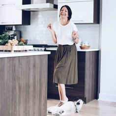 """You said :""""POW!  """" I play the dead as I was taught... So stop laughing girl and give me my treat! ..... On a photoshoot with the marvelous @karine_germain_official for her next cookbook!"""