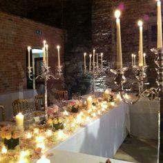 Beautiful wedding to Cipriani Hotel Venice - Installation by Vicenzo Dascanio