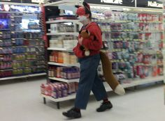 22 Weird Things Happening Only At Walmart 34 - this is what the fox says