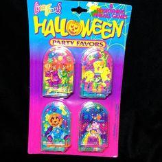 Vintage Lisa Frank Halloween Party Favors Pinball Games NIP  #LisaFrank