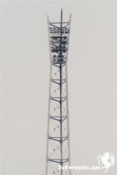Lichtmast van het voormalig Arke stadion.