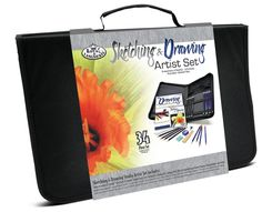 Amazon.com: Royal & Langnickel Sketching and Drawing Studio Artist Set