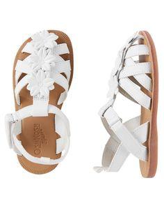 0947fd5b1731 OshKosh Floral Sandal  littlegirloutfits Baby Sandals