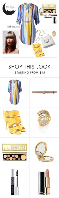 """Date Night shirt dress"" by tattooedmum on Polyvore featuring Gucci, John Hardy, MAC Cosmetics, Odeme, Christian Dior, Chanel, Smith & Cult, contestentry and twinkledeals"