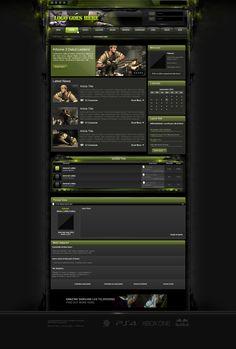 A clean dark Xenforo gaming style, xenforo gaming forum theme