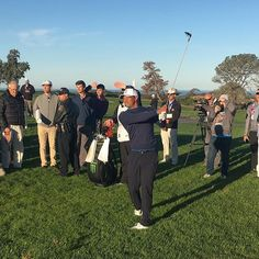 Tiger: You've gotta stay patient, stay in the moment, keep grinding...You never what can happen.  Farmers insurance open pro am at Torrey pines today... Come on out.. #tiger #golf #farmersopen #torreypines #lajolla #tigerwoods #goat #hof #discipline #focus #commitment #desire #passion #life #purpose #staywoke #sandiego #hollywood #malibu #lajollalocals #sandiegoconnection #sdlocals - posted by Justin  https://www.instagram.com/philosophical_nature. See more post on La Jolla at…