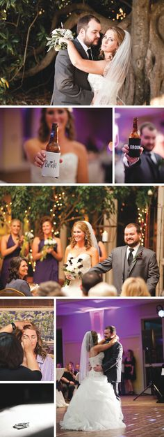 Purple Memphis wedding in the fall, photographed by Scrivener Camera Works | The Pink Bride www.thepinkbride.com