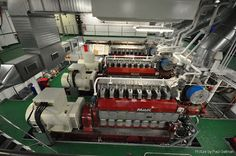 ships engine room