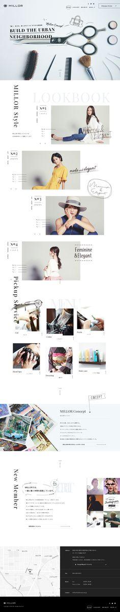 美容室MILLOR(ミラー) | 神奈川県武蔵小杉駅のヘアサロン・美容院 WEBサイト