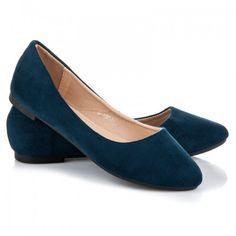 Dámské baleríny Zemery modré - modrá