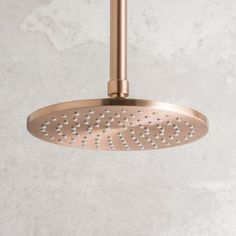 Strata Shower Rose 200mm Rose Copper