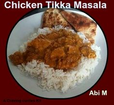 Abi's attempt at Chicken Tikka Masala - Looks good to me! Pollo Tikka Masala, Chicken Tikka Masala, Indian Curry, Curries, Cravings, Dishes, Food, Curry, Tablewares