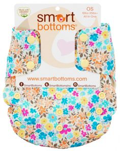 Smart Bottoms All in One Organic One Size