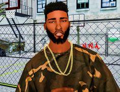 Sims 4 CC's - The Best: King Beard Edit by Ebonix