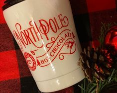 Monogramming Gifts Special Occassions & More by MadeInHisImageShop Monogram Coffee Mug, Personalized Coffee Mugs, Personalized Tumblers, Custom Tumblers, Trending Christmas Gifts, Cute Christmas Gifts, Personalized Christmas Gifts, Christmas Tree, Reindeer Hot Chocolate