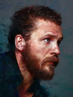 Tom Hardy, Aaron Griffin on ArtStation at https://www.artstation.com/artwork/tom-hardy-4