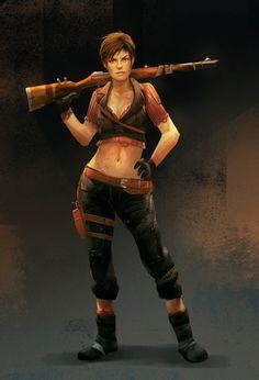 Fallout OC: Nikki Mori by empress-riona.deviantart.com on @deviantART