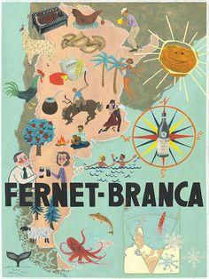 """Mapa de Argentina + la bebida """"Fernet-Branca"""" (lbk)"""