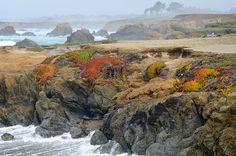 Taken on Glass Beach, at Fort Bragg on the Pacific Coast in California. √  © John Krzesinski, 2011.    Taken on Glass Beach, at Fort Bragg on the Pacific Coast in California.    © John Krzesinski, 2011.