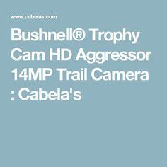 Bushnell® Trophy Cam HD Aggressor 14MP Trail Camera : Cabela's