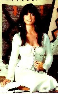Jessi Colter (Singer/Waylon Jennings' wife) is another 70's sultry and southwest brunette I adore!