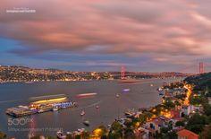 Bosphorus Istanbul by Serhatbozkurt. Please Like http://fb.me/go4photos and Follow @go4fotos Thank You. :-)